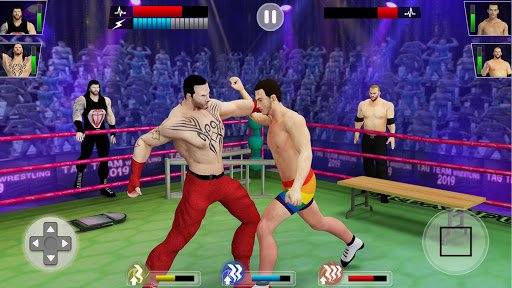 Tag Team Wrestling Games: Mega Cage Ring Fighting modavailable screenshots 6