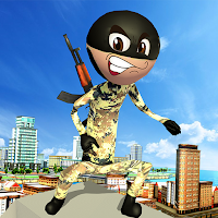 US Army Stickman Neo-Hero Counter Attack Mission
