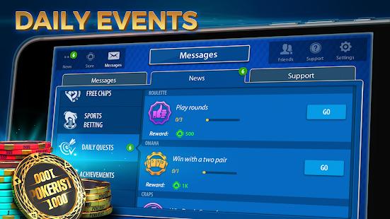 Texas Hold'em & Omaha Poker: Pokerist 42.10.0 screenshots 3