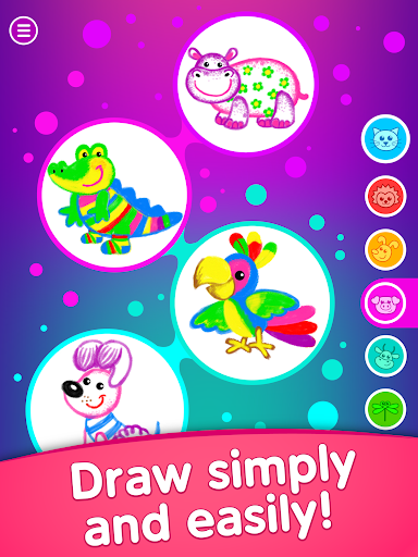 Toddler coloring apps for kids! Drawing games! screenshots 17