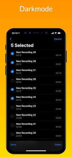 iVoice - iOS Voice Recorder, iPhone Voice Memos android2mod screenshots 4