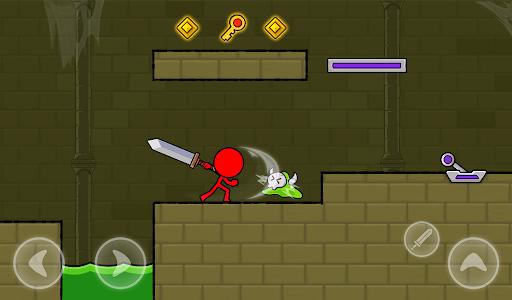 Red Stickman : Animation vs Stickman Fighting android2mod screenshots 20