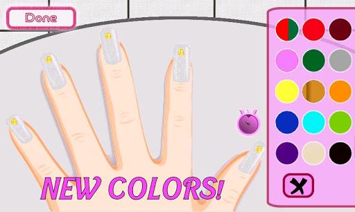a-list girl ★ christmas nails screenshot 1