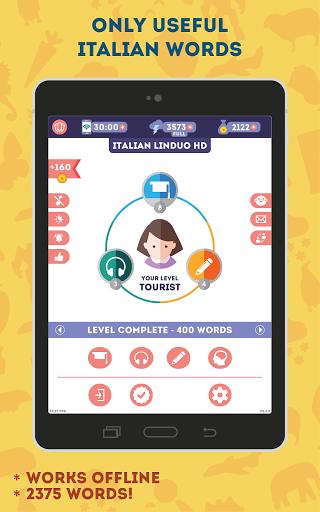 Italian for Beginners: LinDuo HD 5.6.0 screenshots 6