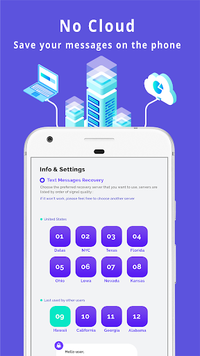 Recover All Deleted Text Messages - US 2.0 screenshots 3