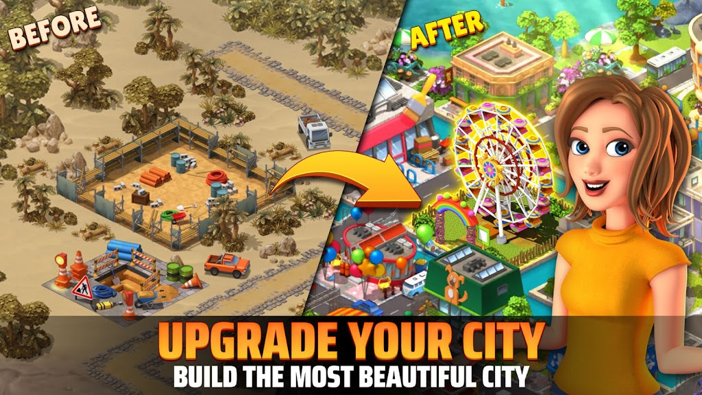 City Island 5 - Tycoon Building Simulation Offline poster 16