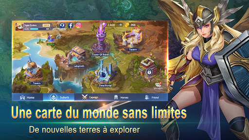 Code Triche Mobile Legends: Adventure (Astuce) APK MOD screenshots 5