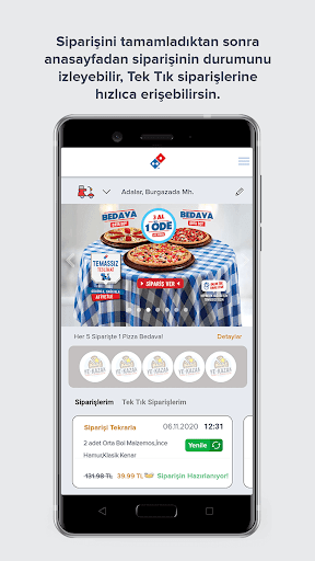Domino's Pizza Turkey 4.0.7 screenshots 1