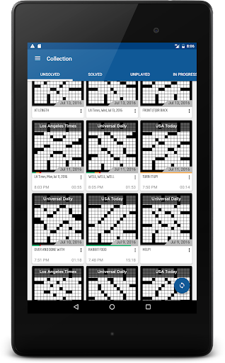 alphacross Crossword apkslow screenshots 10