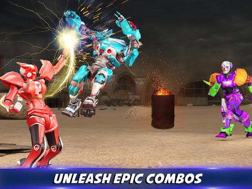 Robot X Street Battle: Beat Em Up Warrior Assassin apkmr screenshots 10