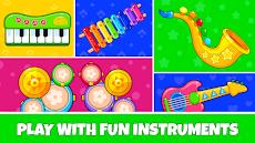 Baby Music : Rhymes, Songs, Animal Sounds & Gamesのおすすめ画像2