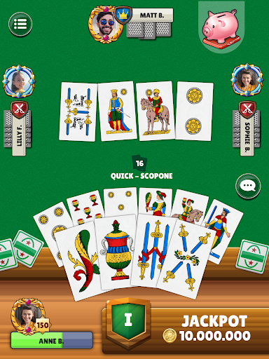 Scopa - Free Italian Card Game Online  screenshots 14