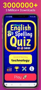 Ultimate English Spelling Quiz : New 2021 Version