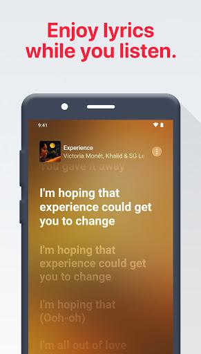 Apple Music app screenshot