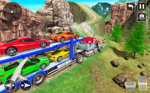Crazy Car Transport Truck:New Offroad Driving Game 1.32 Screenshots 8