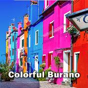 Beautiful Wallpaper Colorful Burano Theme