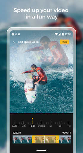 Slow motion - Speed up video - Speed motion 1.0.51 Screenshots 3