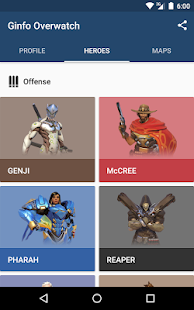 Ginfo for Overwatch