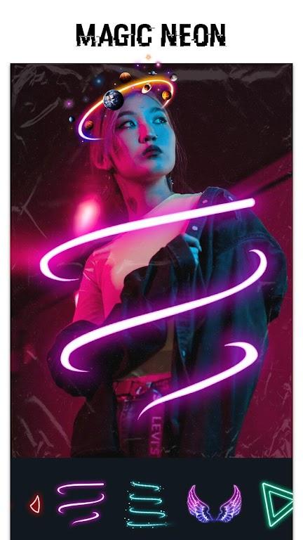 Glitch Photo Editor & Glitch Video Effect poster 1