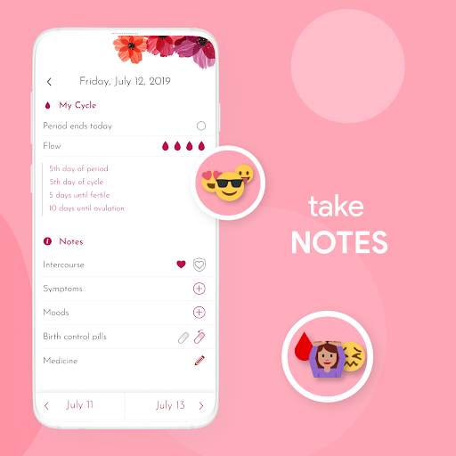 My Calendar - Period Tracker 7.5.1 Screenshots 3