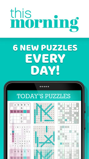 This Morning ud83cudf1e Puzzle Time ud83dudcc6 Daily Puzzles 4.3 screenshots 2