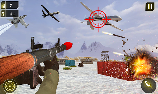 Military Missile Launcher:Sky Jet Warfare 1.0.8 screenshots 12