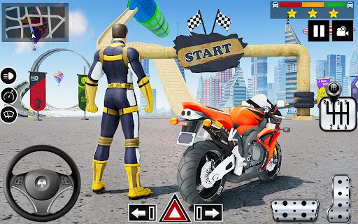 Impossible Stunts Bike Racing Games 2018: Sky Road  screenshots 5