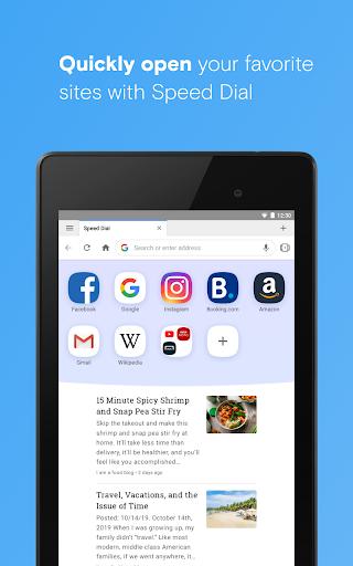 Opera browser beta  Screenshots 15