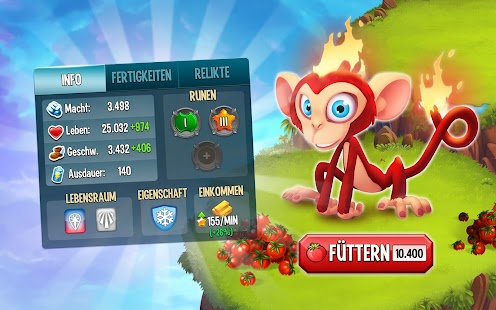 Monster Legends: fantasy rollen spiel mit dem PvP Screenshot