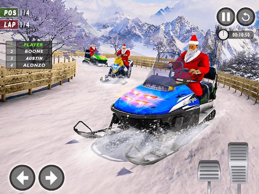 Santa Atv Snow Bike Racing 2020 : Quad Bike Race 1.1 Screenshots 10