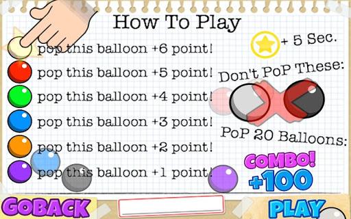 pop pop the balloons free screenshot 2