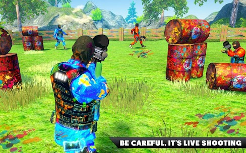 Paintball Arena Royale Shooting Battle: Color War 1.1 [MOD APK] Latest 2