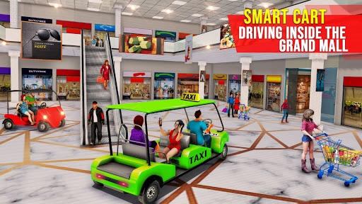 Shopping Mall Radio Taxi: Car Driving Taxi Games  screenshots 3