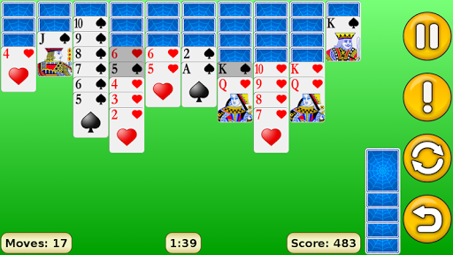 Spider Solitaire 1.18 Screenshots 8
