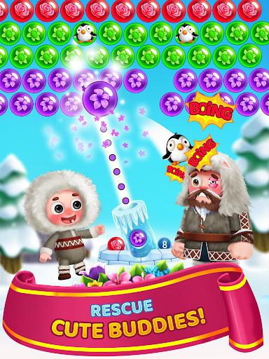 Flower Games - Bubble Shooter 4.2 screenshots 11