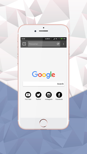 Private Browser & Web Explorer apktram screenshots 1