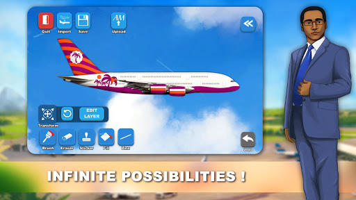 Airlines Painter modavailable screenshots 4