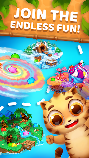 Animatch Friends - cute match 3 Free puzzle game  screenshots 13