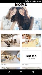 美容室・ヘアサロン NORA(ノラ)公式アプリ 1.0.3 screenshots 1