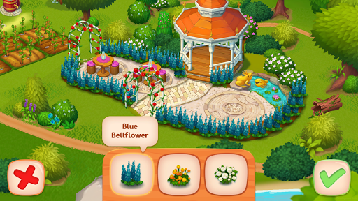 Delicious B&B: Match 3 game & Interactive story screenshots 7