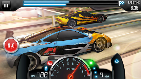 CSR Racing MOD APK 5.0.1 (Unlimited money) 8