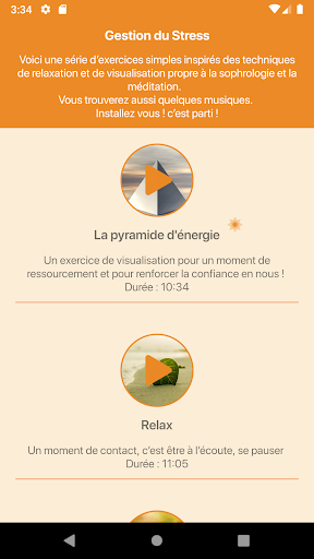 Rendez-Vous Sophro 1.4.1 screenshots 2