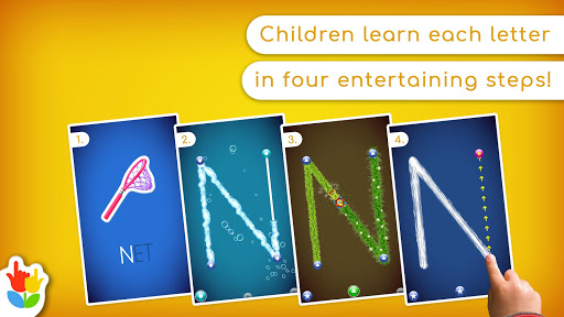 LetterSchool - Learn to Write ABC Games for Kids  Screenshots 1