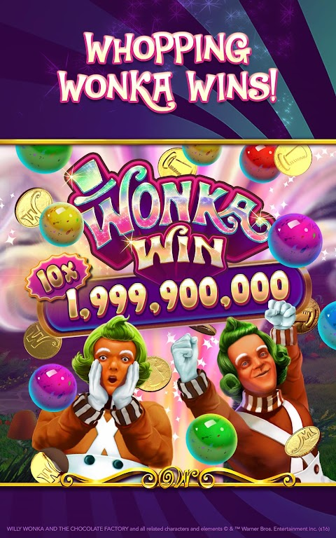 Willy Wonka Slots Free Casino  poster 5