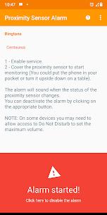 Proximity Sensor Alarm Mod Apk (Anti-Theft) (Premium Unlocked) 5