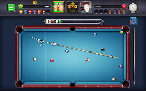 8 Ball Pool APK MOD 5.4.5 (Unlimited Money, Long Lines) 8