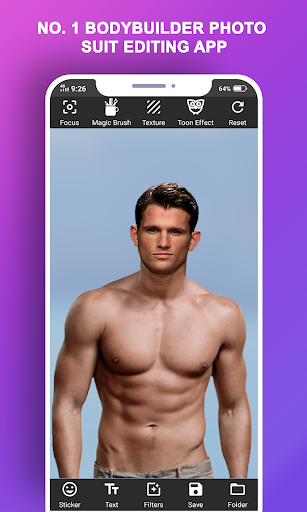 Body Builder Photo Suit (Six pack abs editor) android2mod screenshots 9