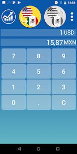 Mexican Peso Dollar converter