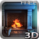 Fireplace 3D FREE lwp - Androidアプリ