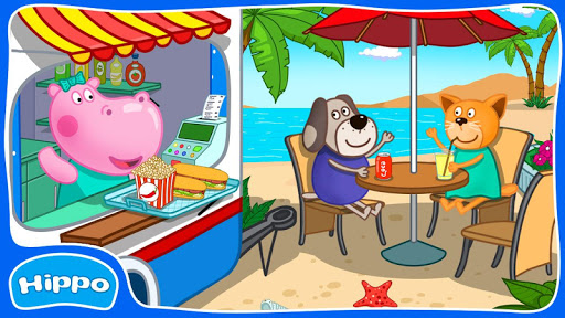 Baby Beach Cafe: Cooking apkpoly screenshots 2